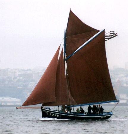 Général Leclerc BR6768, Volker Gries, Sail Brest / Cutty Sark 2002 , 07/2002