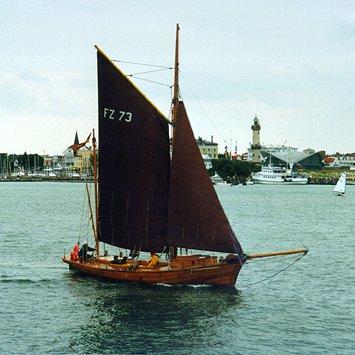 FZ73 Un Ick, Volker Gries, Hanse Sail Rostock 1998 , 08/1998