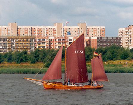 FZ73 Un Ick, Volker Gries, Hanse Sail Rostock 2001 , 08/2001