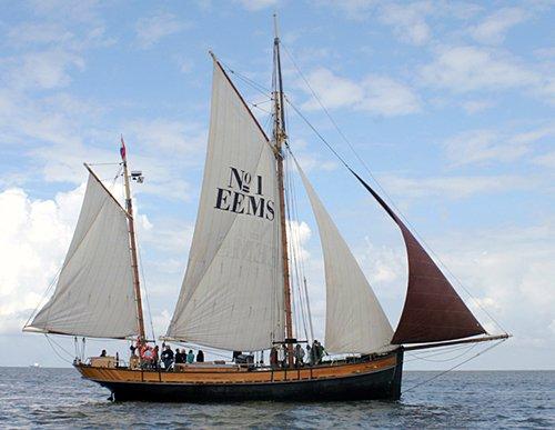 Eems No.1, Thad Koza, Nordsee/Bremerhaven , 08/2008