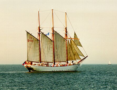 Anny von Hamburg, Volker Gries, Hanse Sail Rostock 1997 , 08/1997
