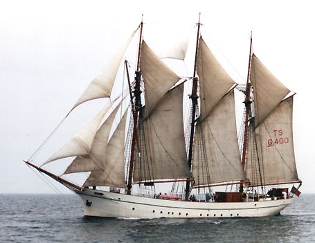 Anny von Hamburg, Volker Gries, Hanse Sail Rostock 2002 , 08/2002