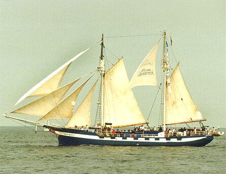 Baltic Beauty, Volker Gries, Hanse Sail Rostock 1998 , 08/1998