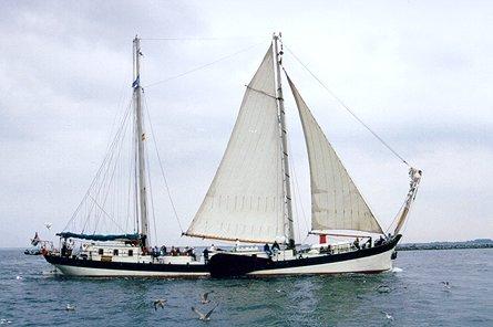 Elegant, Volker Gries, Hanse Sail Rostock 1999 , 08/1999