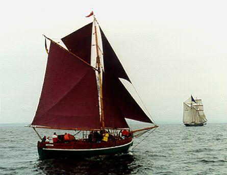Ellen, Volker Gries, Hanse Sail 1996 / Cutty Sark 1996 , 08/1996
