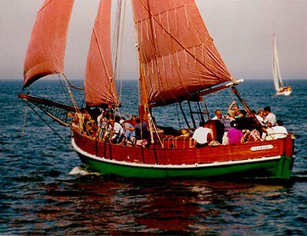 Ellen, Volker Gries, Hanse Sail Rostock 1997 , 08/1997