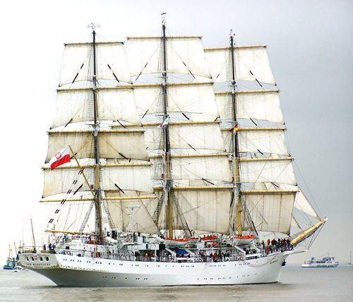 Dar Mlodziezy, Thomas Albert, Sail Bremerhaven 2005 , 08/2005