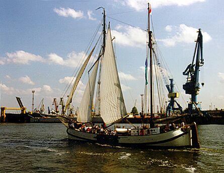 Engelina, Volker Gries, Hanse Sail Rostock 1997 , 08/1997