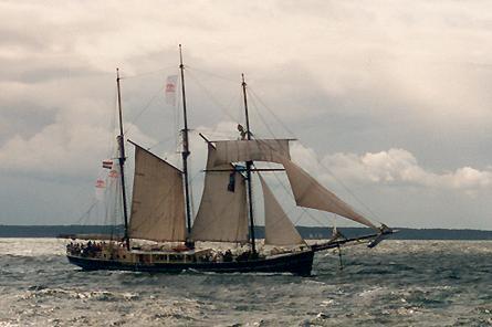 Hendrika Bartelds, Volker Gries, Hanse Sail Rostock 2001 , 08/2001