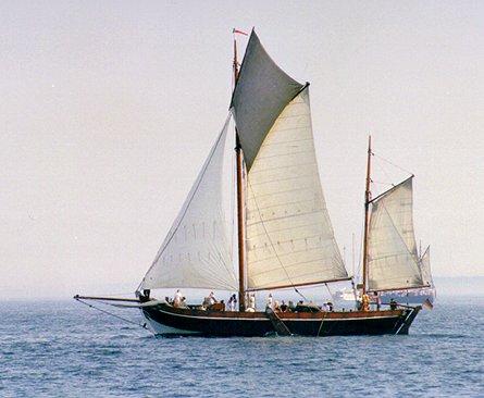 Maria af von Hoff, Volker Gries, Hanse Sail Rostock 1999 , 08/1999