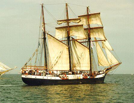 Fridtjof Nansen, Volker Gries, Hanse Sail Rostock 1998 , 08/1998