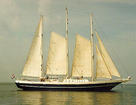 Eendracht II, Volker Gries, Hanse Sail Rostock 1998 , 08/1998