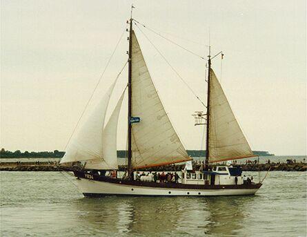 Nordwind Y834, Volker Gries, Hanse Sail Rostock 1998 , 08/1998