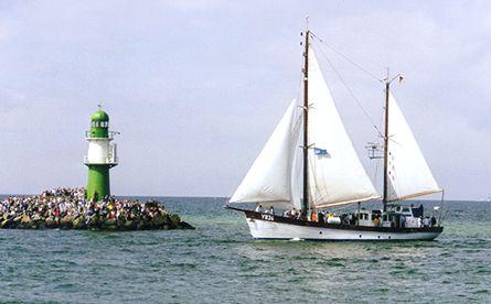 Nordwind Y834, Volker Gries, Hanse Sail Rostock 2000 , 08/2000