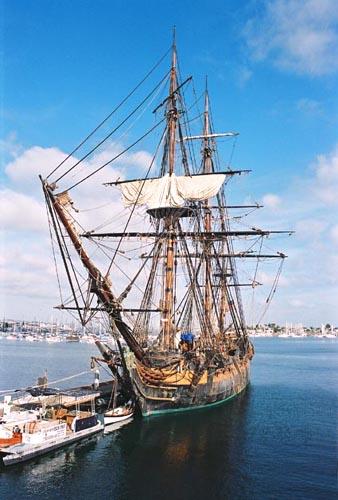 HMS Surprise, Thad Koza (http://www.tallshipsinternational.net/), San Diego , 09/2003