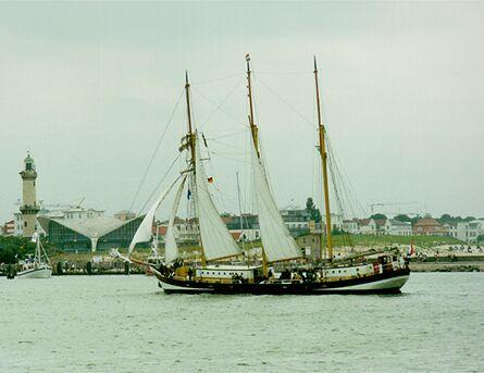 Swaensborgh, Volker Gries, Hanse Sail Rostock 1998 , 08/1998
