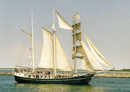 Thalassa, Volker Gries, Hanse Sail Rostock 2000 , 08/2000