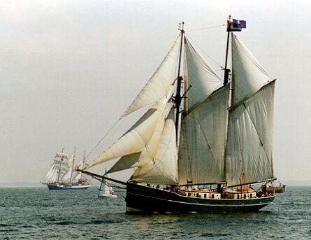 Luciana, Volker Gries, Hanse Sail Rostock 1997 , 08/1997