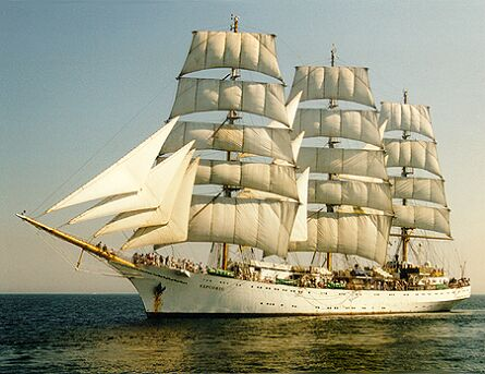 Khersones, Volker Gries, Hanse Sail Rostock 1997 , 08/1997