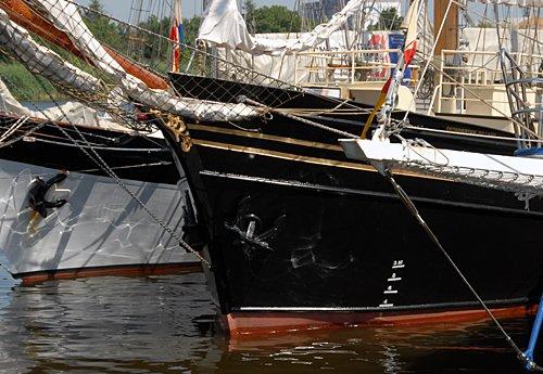 Skonnerten Jylland, Volker Gries, Tall Ships Race 2013, Szczecin, POL , 08/2013