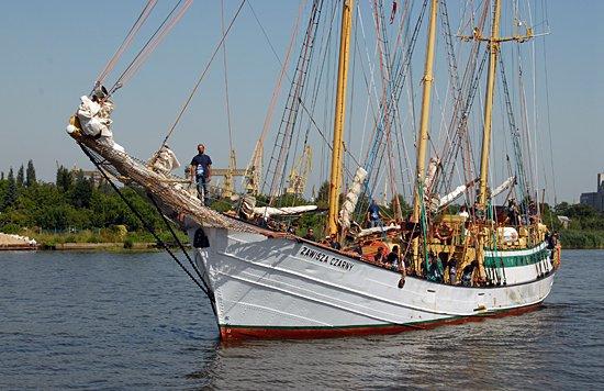 Zawisza Czarny II, Volker Gries, Tall Ships Race 2013, Szczecin, POL , 08/2013