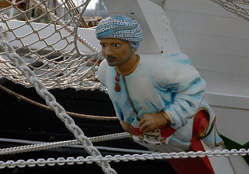 Shabab Oman, Volker Gries, Tall Ships Race 2013, Szczecin, POL , 08/2013