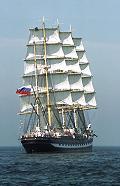 Kruzenshtern, Volker Gries, Hanse Sail Rostock 2003 , 08/2003