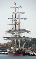 Stad Amsterdam, Volker Gries, Hanse Sail Rostock 2008 , 08/2008