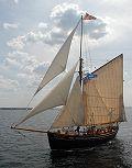 Hansine, Volker Gries, Hanse Sail Rostock 2009 , 08/2009