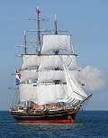 Stad Amsterdam, Volker Gries, Hanse Sail Rostock 2014 , 08/2014