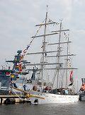 Tarangini, Volker Gries, Hanse Sail Rostock 2015 , 08/2015