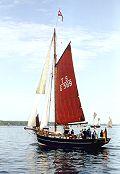 Grete Fri28, Volker Gries, Rum-Regatta 2000 , 06/2000