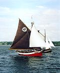 Dagmar Aaen, Volker Gries, Sail Flensburg 2000 / Cutty Sark 2000 , 08/2000