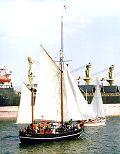 Albin Köbis, Volker Gries, Hanse Sail Rostock 2000 , 08/2000