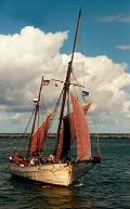 Iona, Volker Gries, Hanse Sail Rostock 2001 , 08/2001