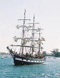 Jeanie Johnston, Thad Koza (http://www.tallshipsinternational.net/), West Palm Beach , 04/2003