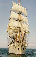 Khersones, Volker Gries, Hanse Sail Rostock 2000 , 08/2000